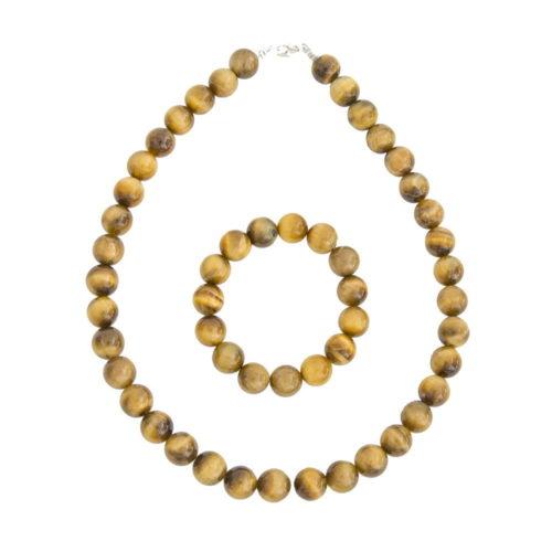 Golden Tiger's Eye Gift Set - 12 mm Bead