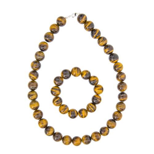 Tiger's Eye Gift Set - 14 mm Bead