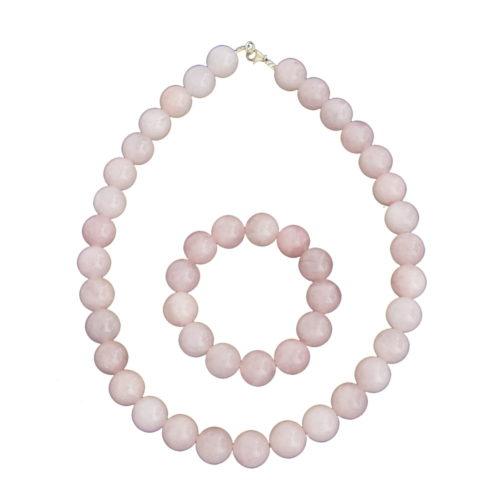 Rose Quartz Gift Set - 14 mm Bead