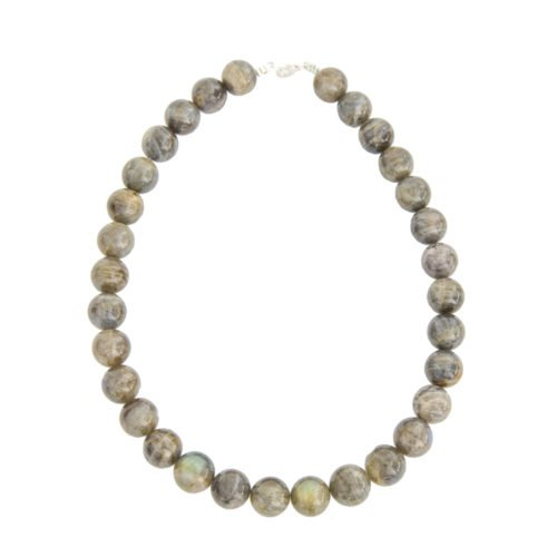 Labradorite Necklace - 14 mm Bead