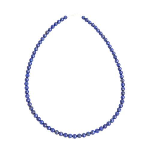 Lapis Lazuli Necklace - 6 mm Bead