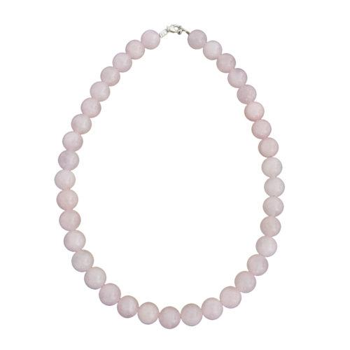 Rose Quartz Necklace - 12 mm Bead