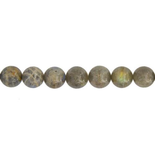 Labradorite Line - 14 mm Bead