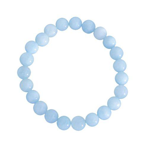 Aquamarine Bracelet - 8 mm Bead