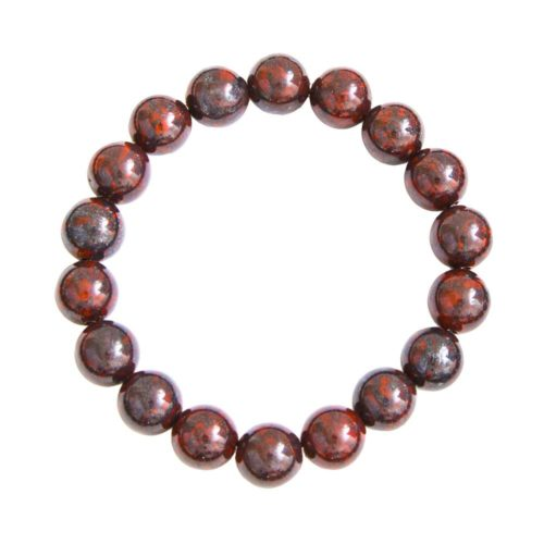Brecciated Jasper Bracelet - 10 mm Bead