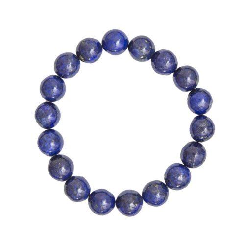 Lapis Lazuli Bracelet - 10 mm Bead