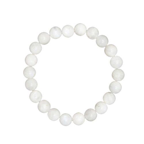Moonstone Bracelet - 8 mm Bead