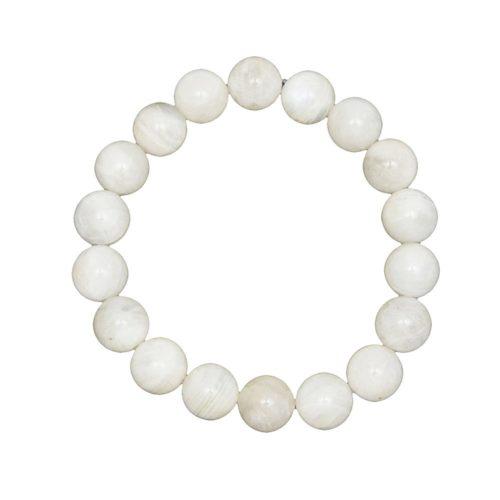 Moonstone Bracelet - 10 mm Bead