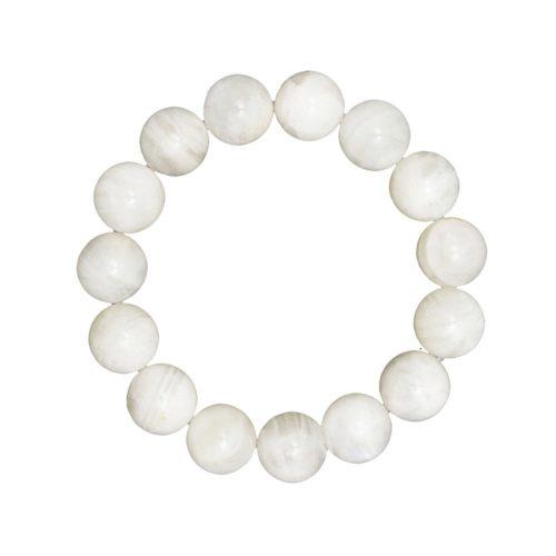 Moonstone Bracelet - 12 mm Bead