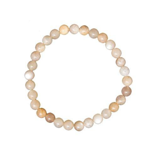 Sunstone Bracelet - 6 mm Bead