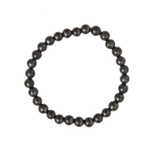 Shungite Bracelet - 6 mm Bead