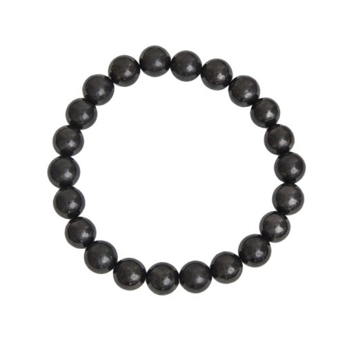 Shungite Bracelet - 8 mm Bead