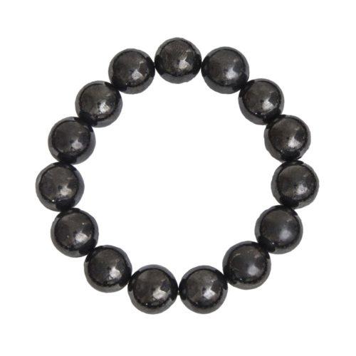 Shungite Bracelet - 12 mm Bead