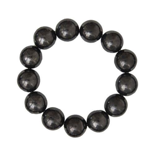 Shungite Bracelet - 14 mm Bead