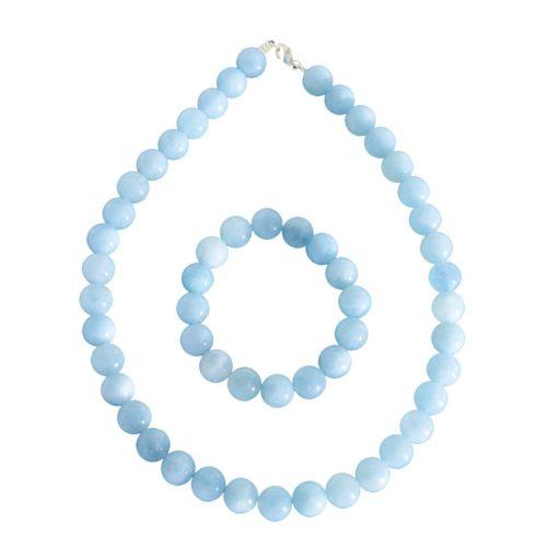 Aquamarine Gift Set - 12 mm Bead