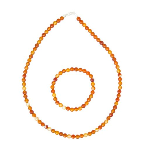 Carnelian Gift Set - 6 mm Bead