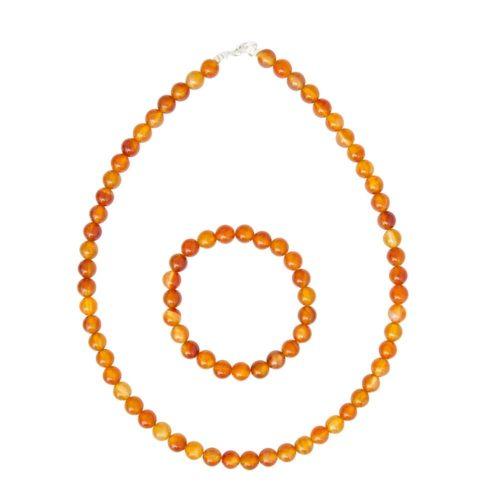 Carnelian Gift Set - 8 mm Bead
