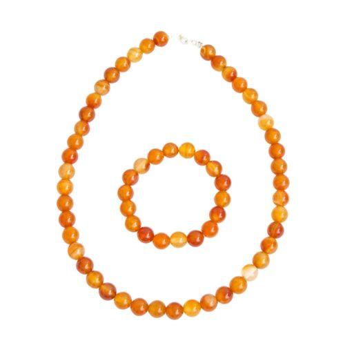 Carnelian Gift Set - 10 mm Bead