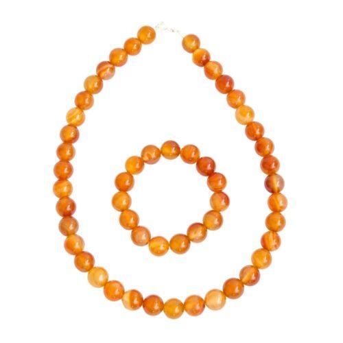 Carnelian Gift Set - 12 mm Bead