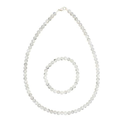 Moonstone Gift Set - 6 mm Bead