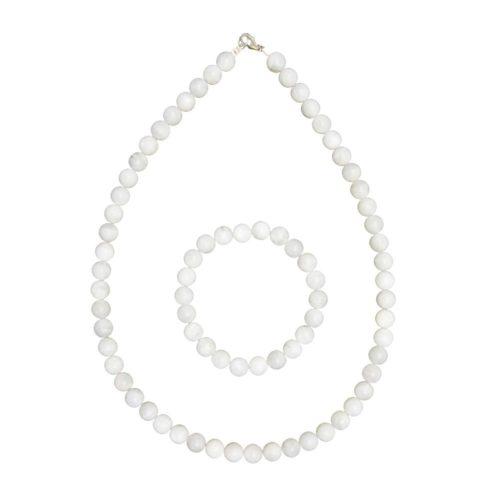 Moonstone Gift Set - 8 mm Bead
