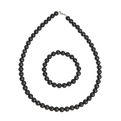 Shungite Gift Set - 8 mm Bead