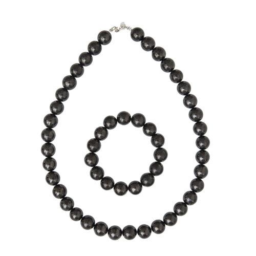 Shungite Gift Set - 12 mm Bead
