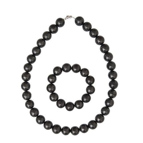 Shungite Gift Set - 14 mm Bead