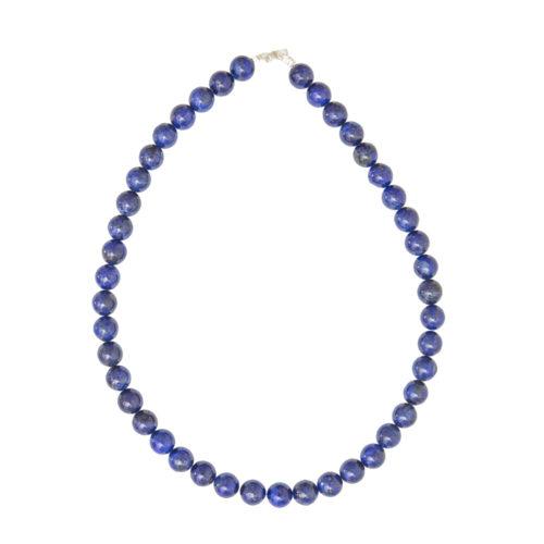 Lapis Lazuli Necklace - 10 mm Bead