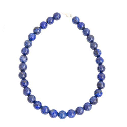 Lapis Lazuli Necklace - 14 mm Bead