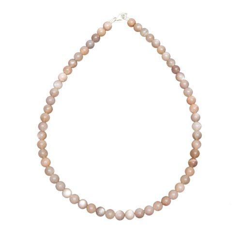 Sunstone Necklace - 8 mm Bead