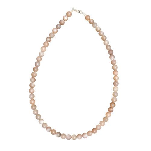 Sunstone Necklace - 8 mm Bead