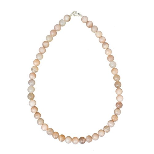Sunstone Necklace - 10 mm Bead