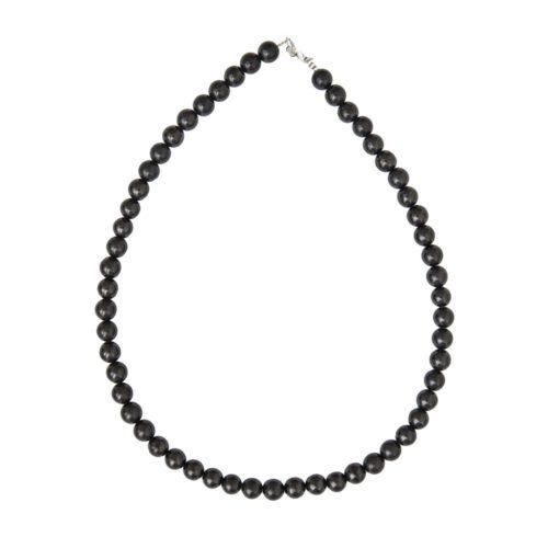Shungite Necklace - 8 mm Bead