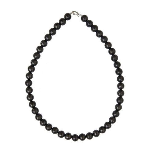 Shungite Necklace - 10 mm Bead