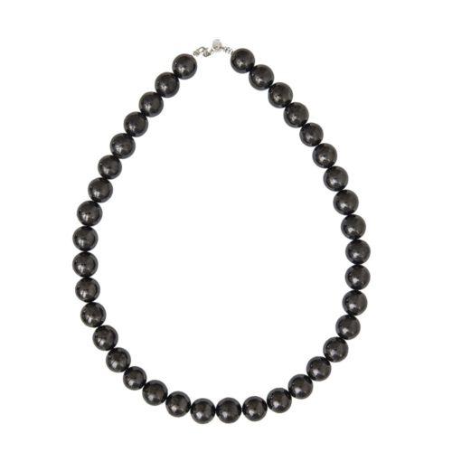 Shungite Necklace - 12 mm Bead