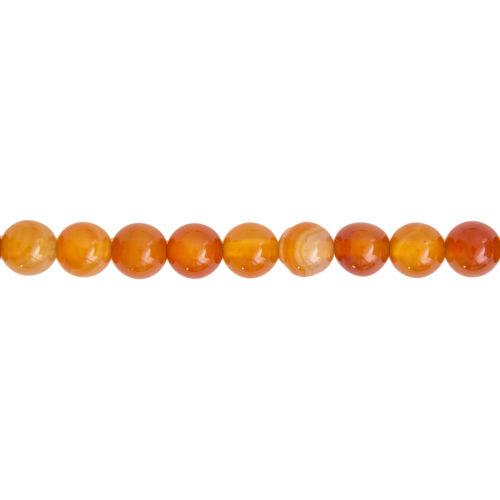 Carnelian Line - 10 mm Bead