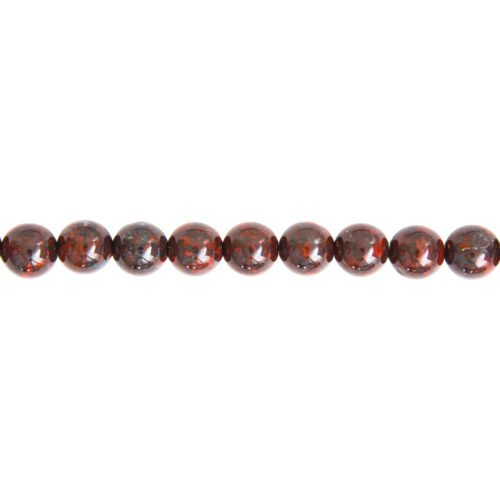 Brecciated Jasper Line - 10 mm Bead