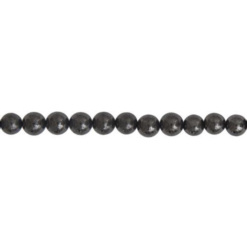 Shungite Line - 6 mm Bead