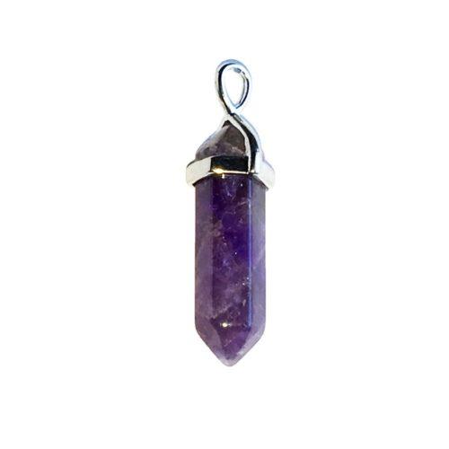Amethyst Pendant - Prism