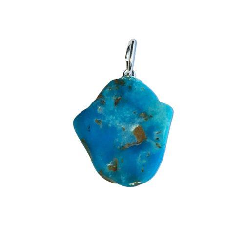Turquoise Pendant - Raw Stone