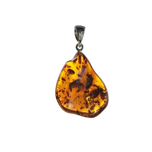 Baltic Amber Pendant - Raw Stone