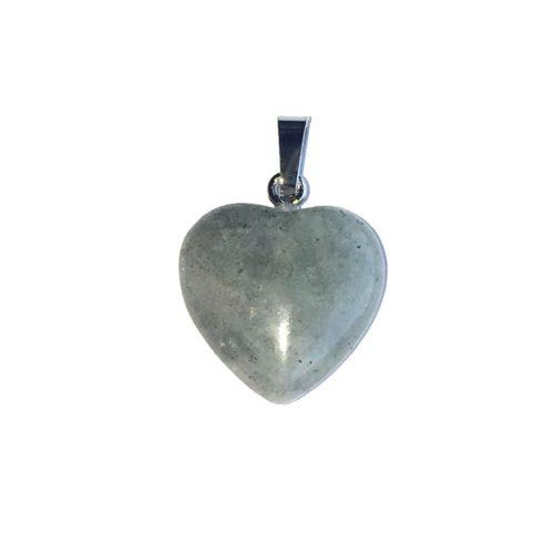 Labradorite Pendant - Small Heart