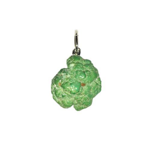 pendentif turquoise fox pierre brute