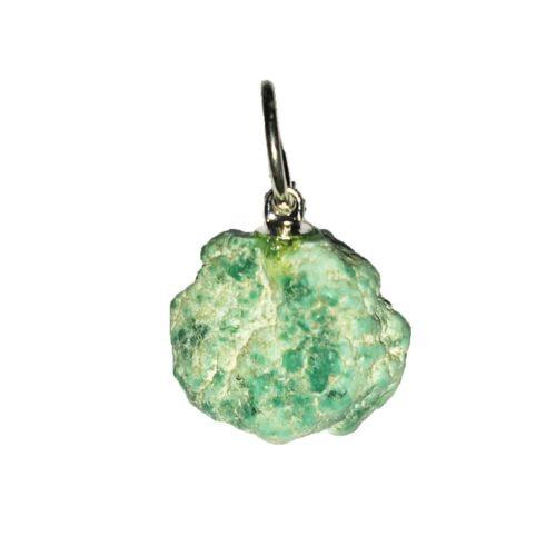 Fox Turquoise Pendant - Raw Stone