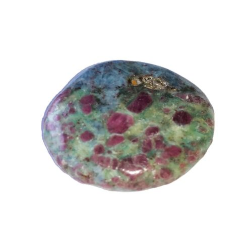 Ruby with Fuschite Pebble
