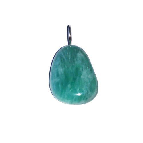 Amazonite Pendant - Tumbled Stone