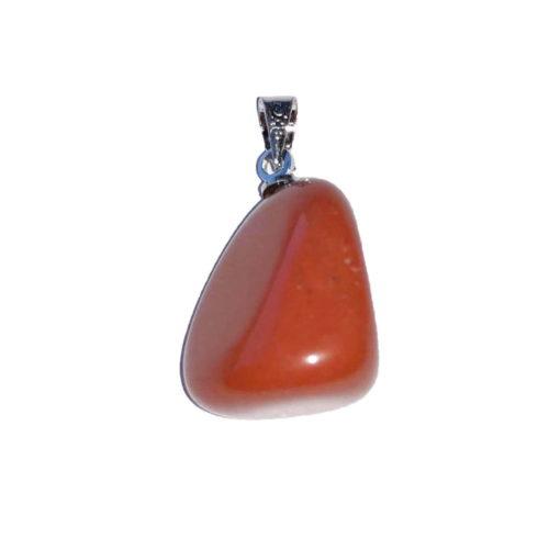 Red Jasper Pendant - Tumbled Stone
