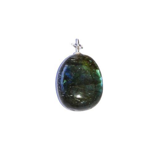 Labradorite Pendant - Tumbled Stone