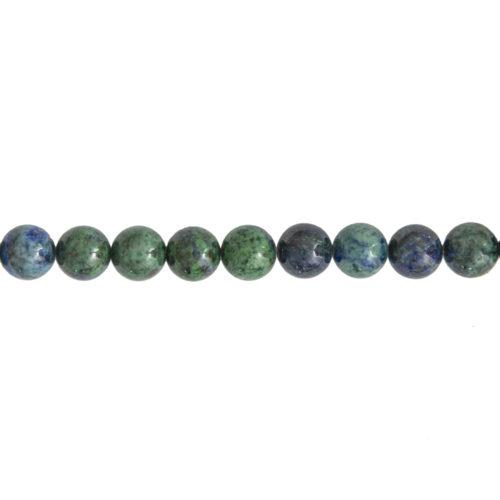Chrysocolla Line - 10 mm Bead